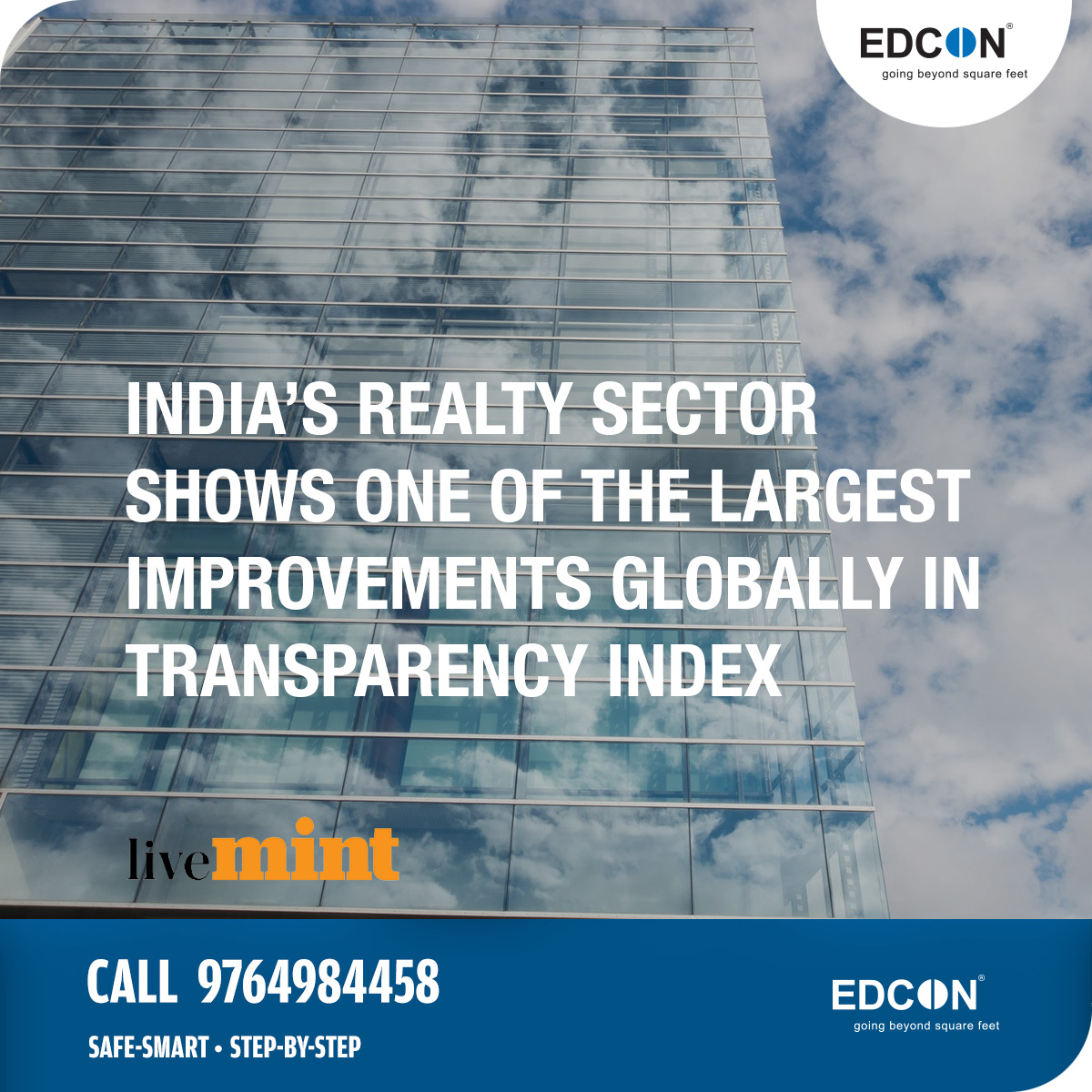 India's realty sector transparency improves