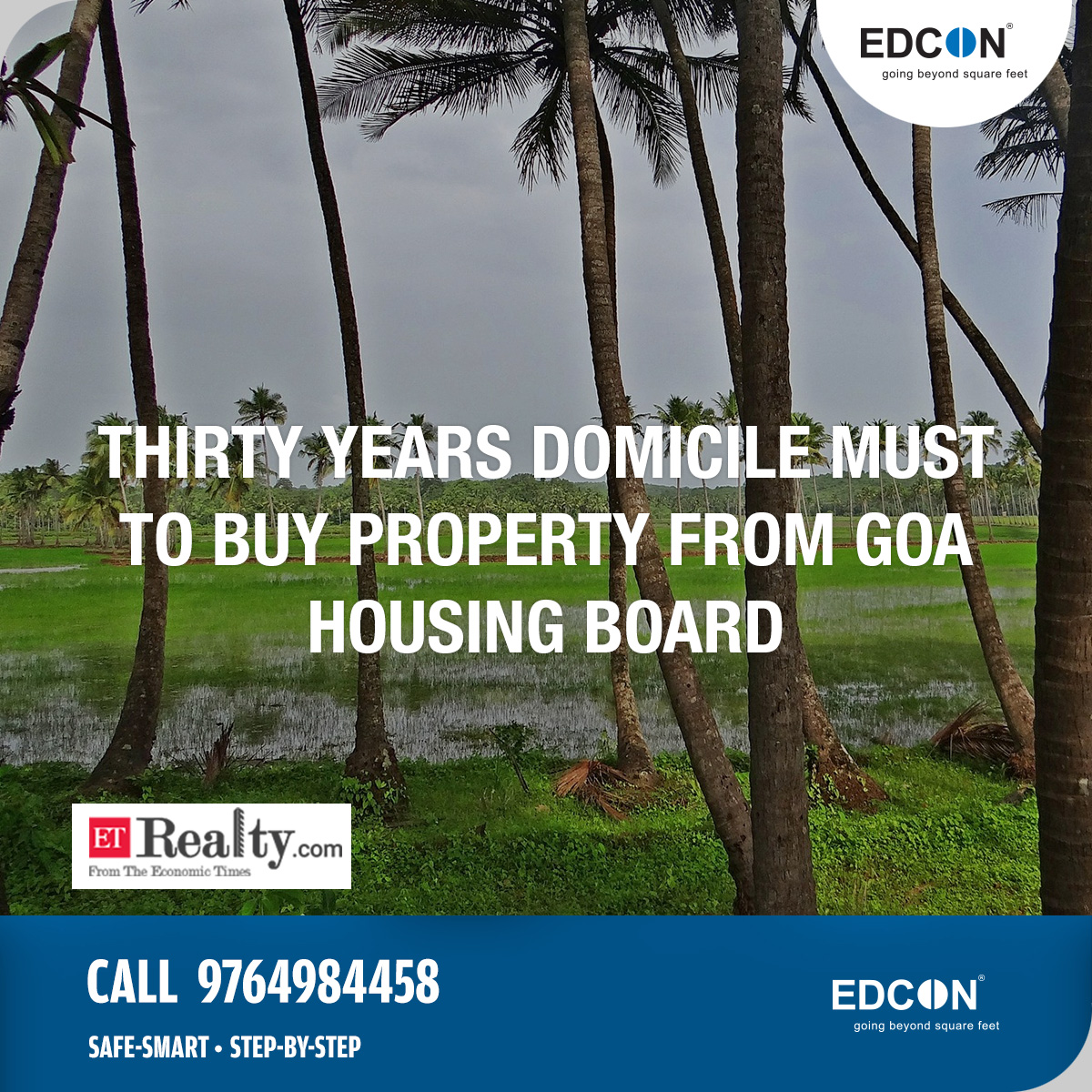 Thirty years domicile must to buy property from Goa Housing Board