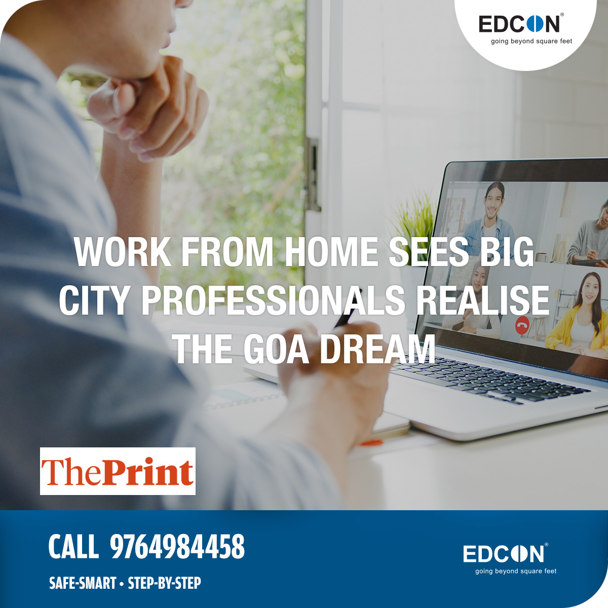 Work from home sees big city professionals realise the Goa dream