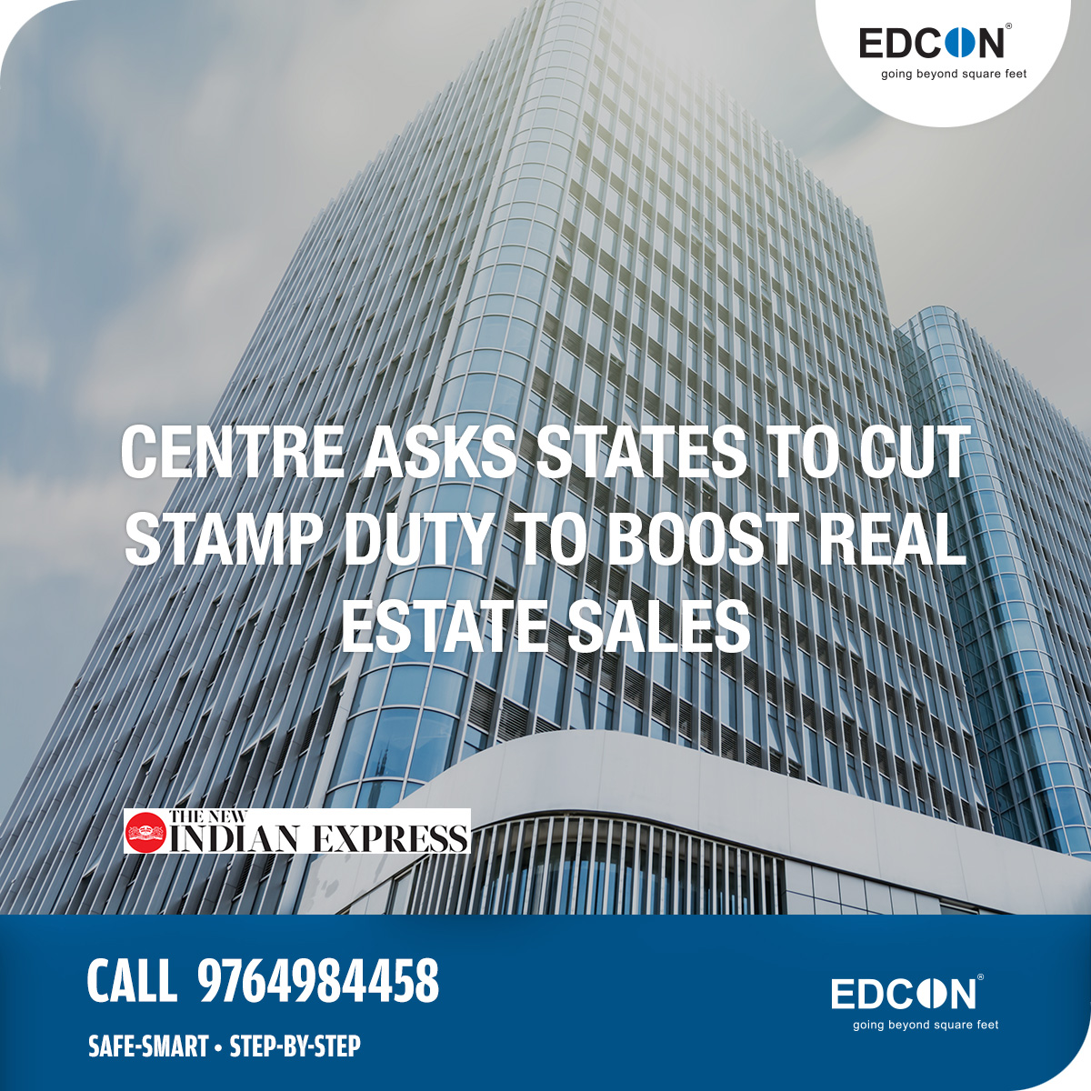Centre asks states to cut stamp duty to boost real estate sales