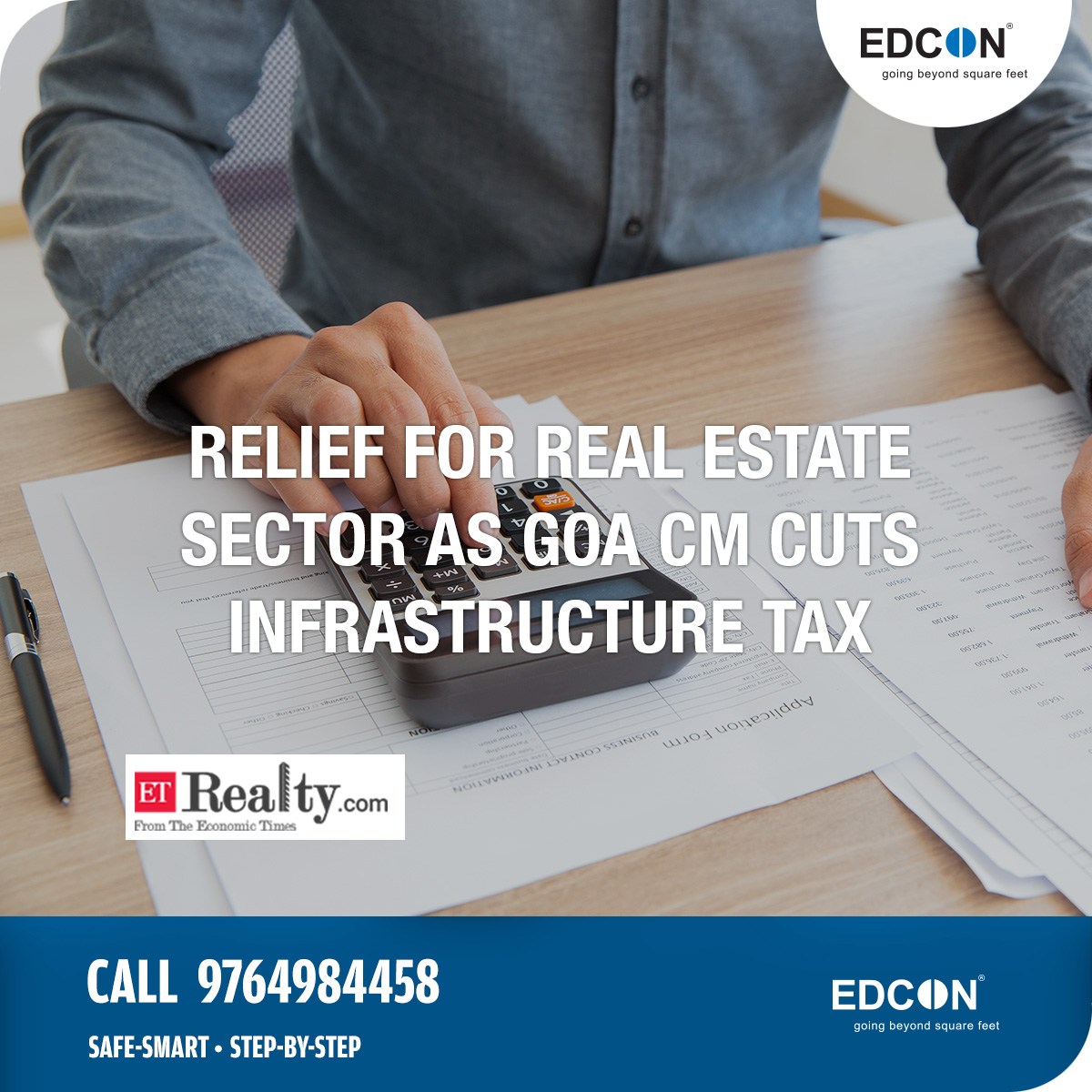 Relief for real estate sector as Goa CM cuts infrastructure tax