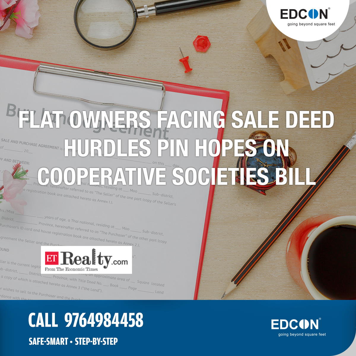 Flat owners facing sale deed hurdles pin hopes on cooperative societies bill